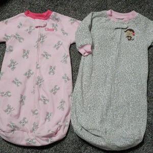 0-9 months! Child of Mine cozy sleep sacks!